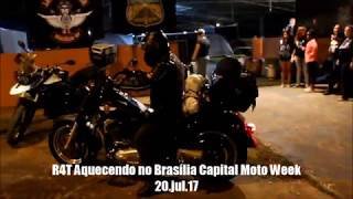Baixar Rádio 4 Tempos aquecendo no Brasília Capital Moto Week 2017