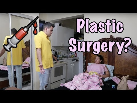 I GOT PLASTIC SURGERY PRANK ON BOYFRIEND! (CRAZY REACTION)