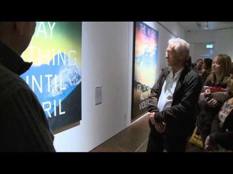 Ed Ruscha at Wolverhampton Art Gallery
