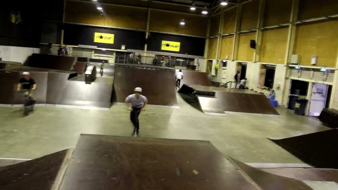 Monster Skatepark Game Of Scoot