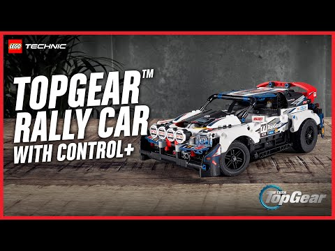 The New App-Controlled BBC Top Gear Rally Car! | LEGO Technic