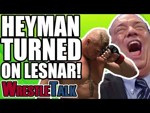 Remember When... Paul Heyman Turned On Brock Lesnar In 2002?!