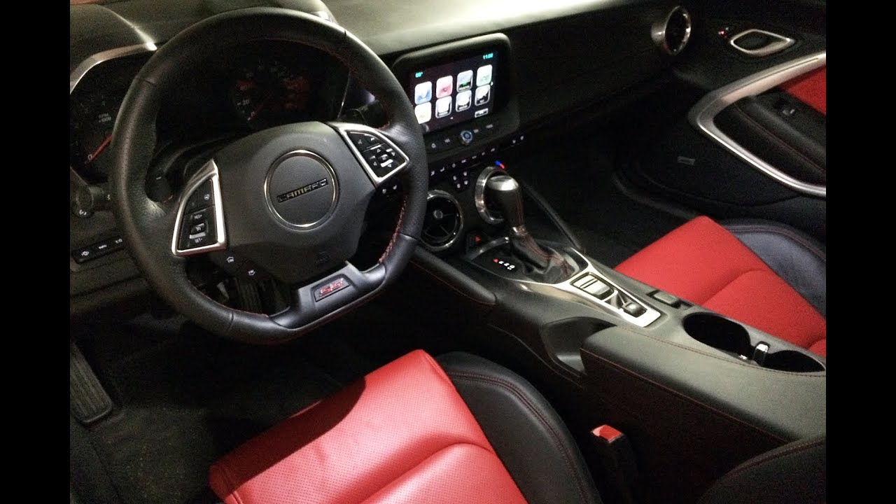 2016 Chevrolet Camaro Interior Tour Amp Review Youtube