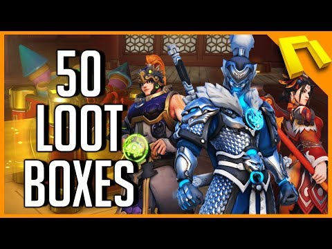 Overwatch - OPENING 50 YEAR OF THE DOG LOOT BOXES (2018 Chinese New Year Event)