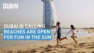 Dubai beaches reopen for summer fun