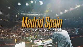 Romeo Santos,Dj Mad, GoldenTour Madrid Spain 5.19.18