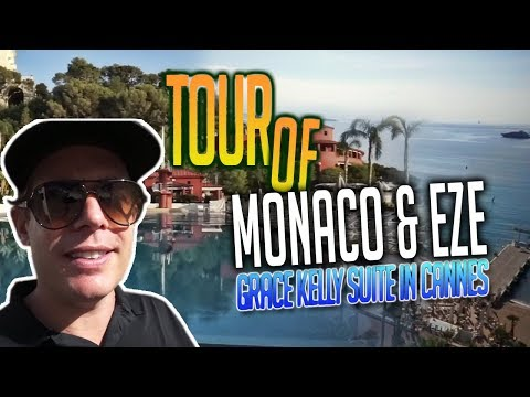 TOUR OF MONACO & EZE + MONTE-CARLO BEACH CLUB!