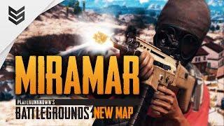 Новая карта Мирамар берем топы в PUBG (New Map Miramar)