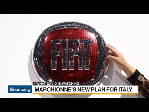 Fiat CEO Thinks Big in New Manufacturing Plan for Italy