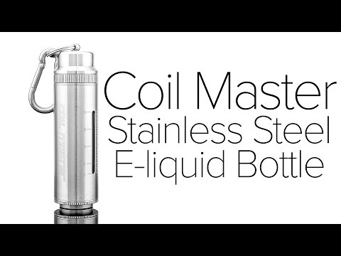 Coil Master SEB Stainless Steel E Liquid Bottle