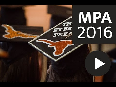 2016 Texas MPA Commencement