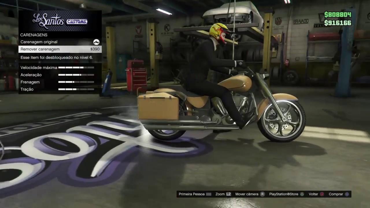 GTA V Online - Tunando a Western Bagger - YouTube