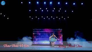 Karaoke Thao Thức Vì Em - Đồng Thanh Tâm ( Karaoke Beat chuẩn )