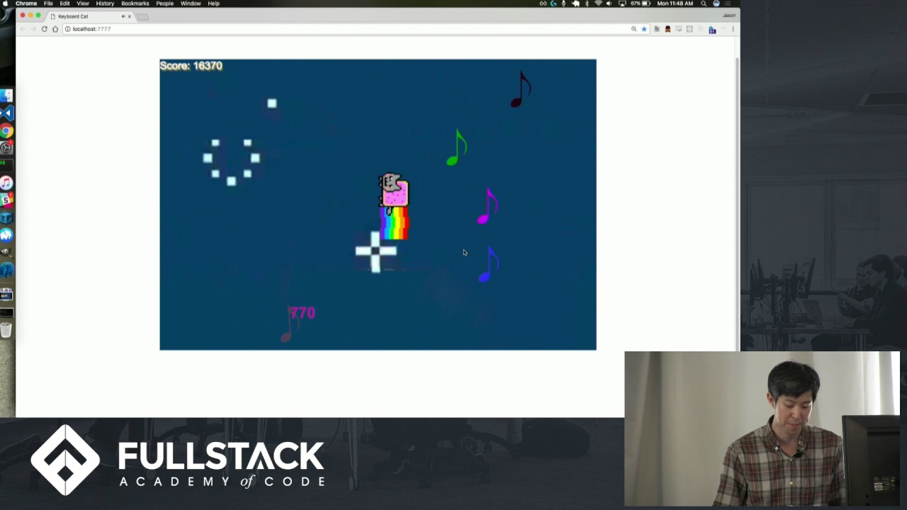 Stackathon Presentation Keyboard Cat Youtube