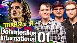 Griezmann, Hazard uvm. - die großen Transfers | Bohndesliga International #01
