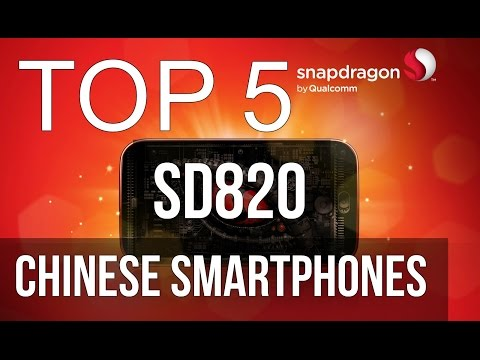 TOP 5 Best snapdragon 820 smartphones/adreno 530/chinese/cheapest/best buy/2016/2017