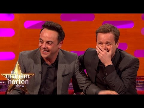 Ant and Dec's Hilarious 90s Gay Magazine Photoshoot - The Graham Norton Show