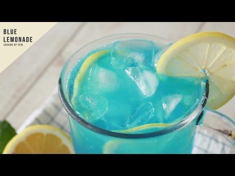 블루 레몬 에이드 만들기 : How To Make Blue Lemonade : ブルーレモネード -Cooking Tree 쿠킹트리