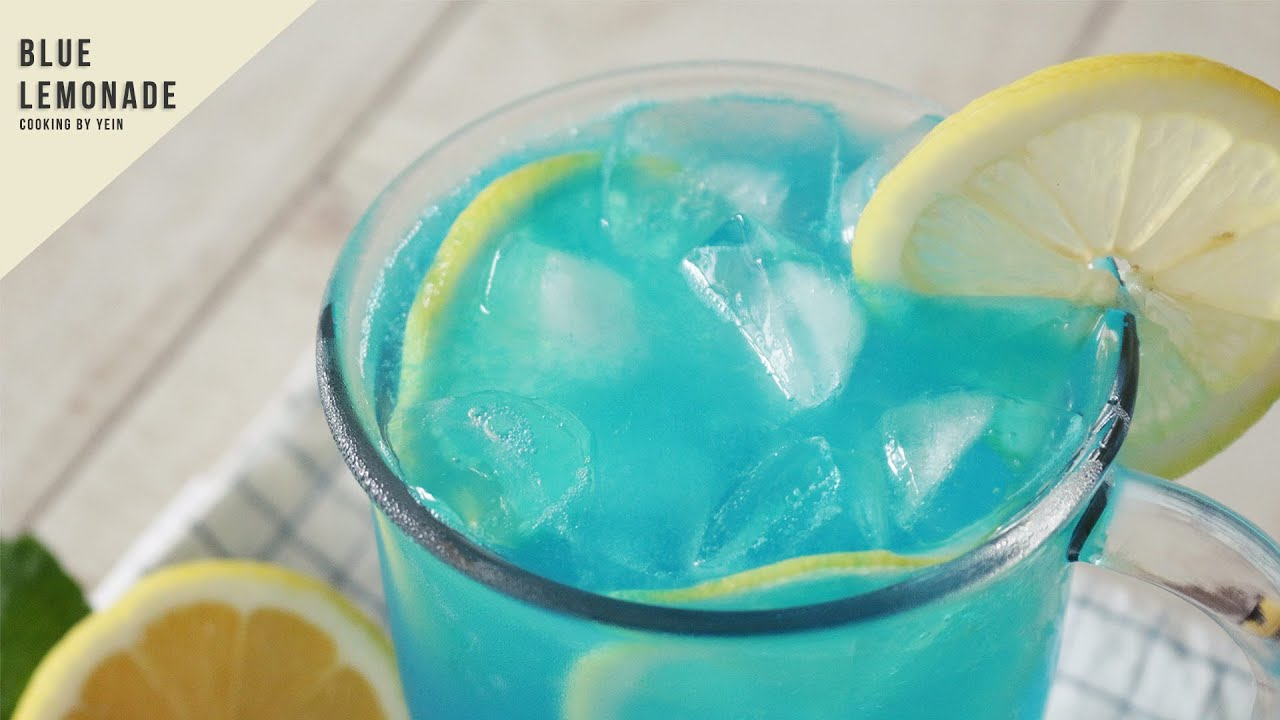 how to make blue lemondae
