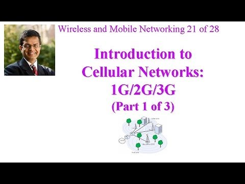 CSE 574-14-14A: Introduction to Cellular Networks: 1G/2G/3G (Part 1 of 3)