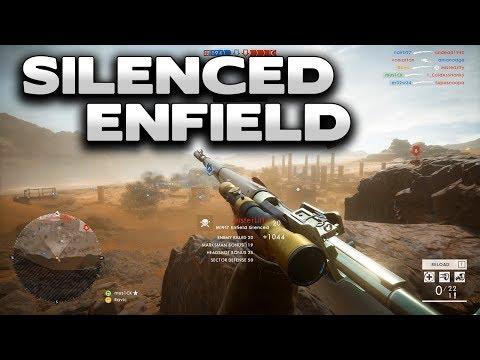 1337 SHOT + Silenced Enfield - Battlefield 1