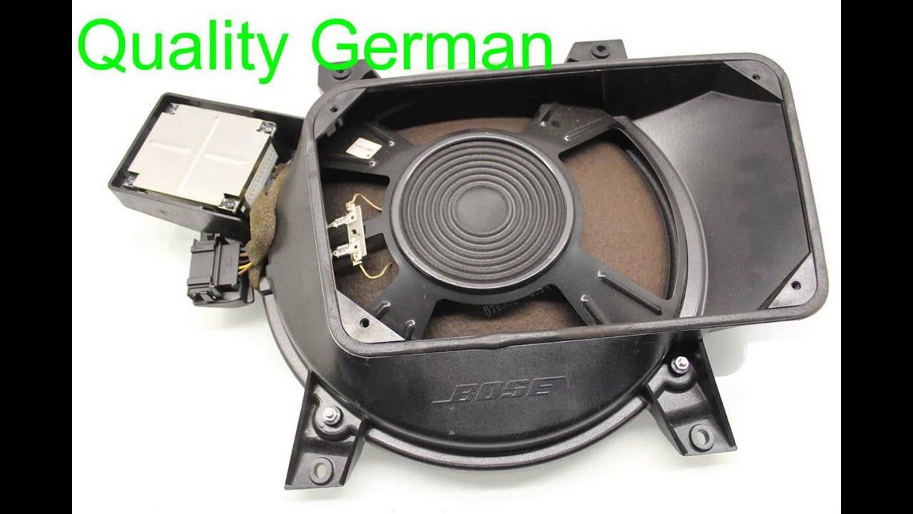 2004 Audi A8 AUDI Speaker BOSE SUBWOOFER 4E0035412A - QGAUTOPARTS ...