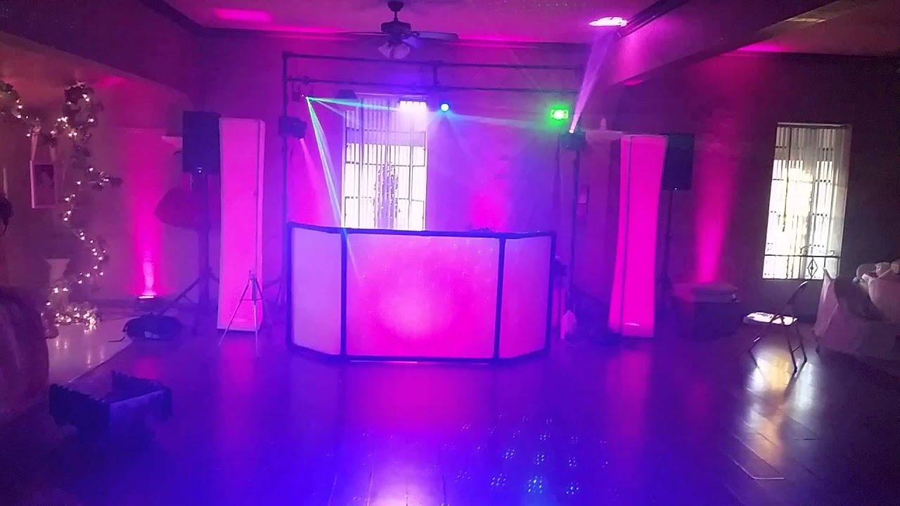 mobile dj party set up party on dis az youtube. Black Bedroom Furniture Sets. Home Design Ideas