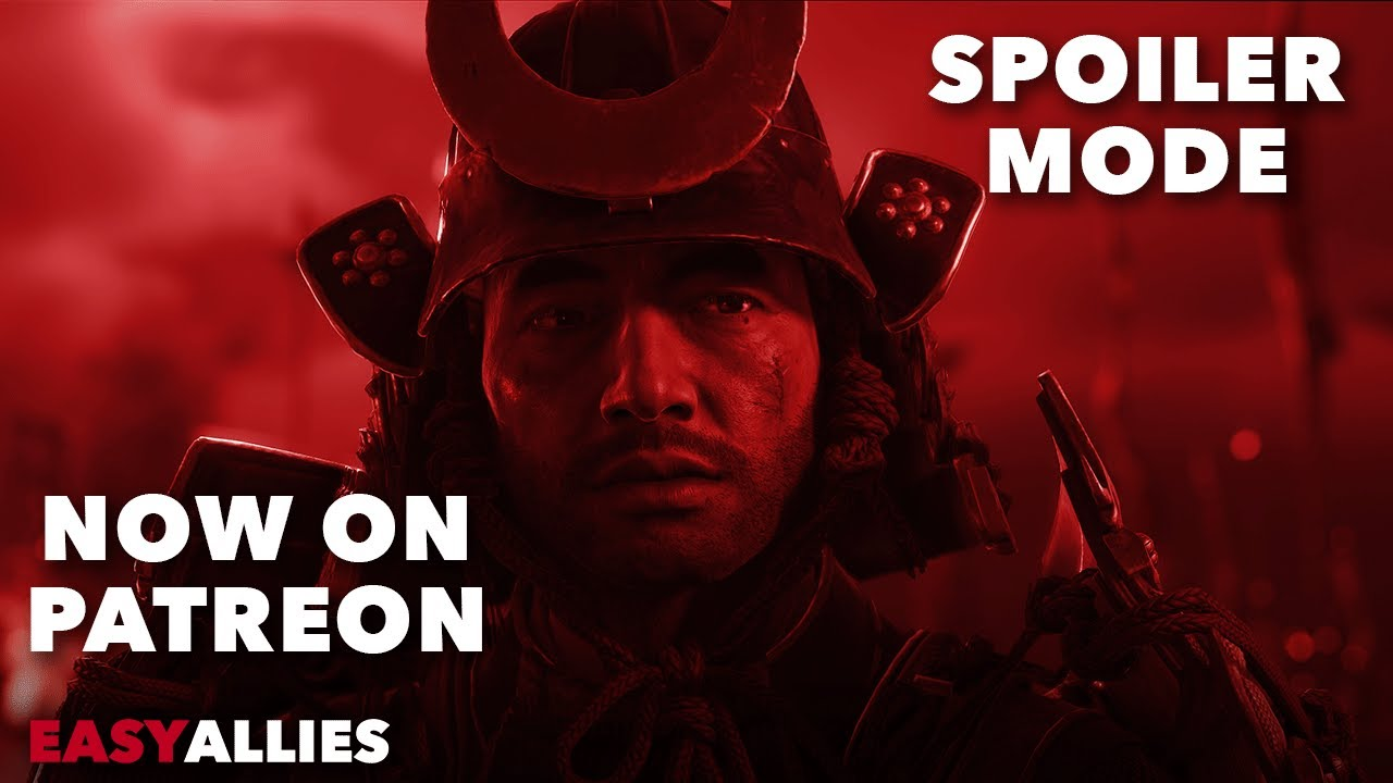 Spoiler Mode Promo - Ghost of Tsushima