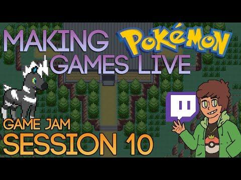 Making Pokemon Games Live (Game Jam Session 10)