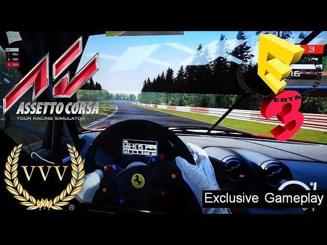 Assetto Corsa PS4 Gameplay E3 2016