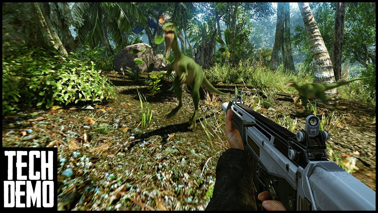 Project Crynosaurs Return To Jurassic Park Tech Demo Youtube