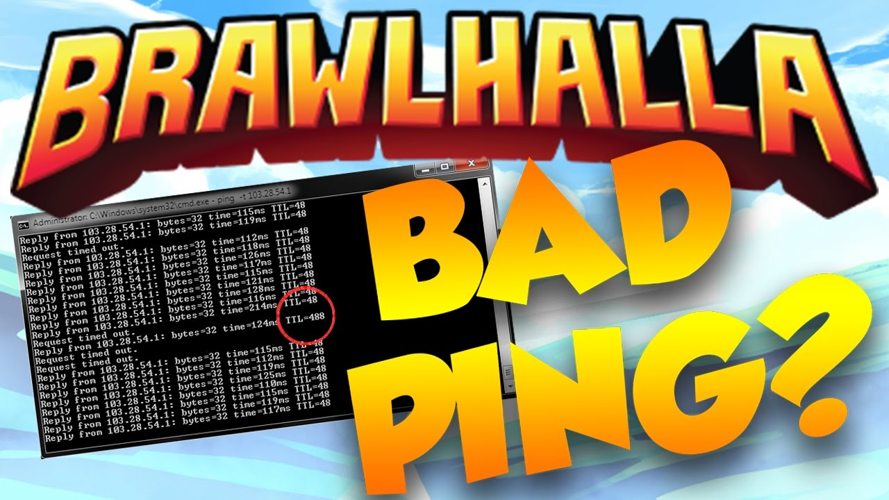 How to Check Your Ping! (Brawlhalla Tutorial)