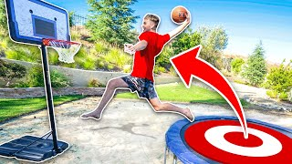 MOST INSANE Game of Trampoline Horse!