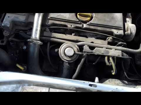 Замена датчика температуры охлаждающей жидкости Opel Astra/Zafira/Vektra 1.7/2.0/2.2 Dti