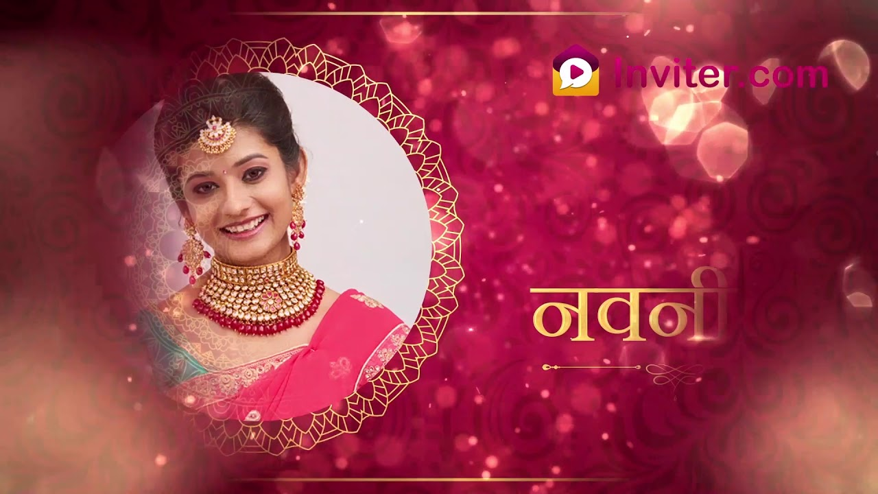 marathi wedding video invitations marriage video invitations whatsapp sharable inviter com