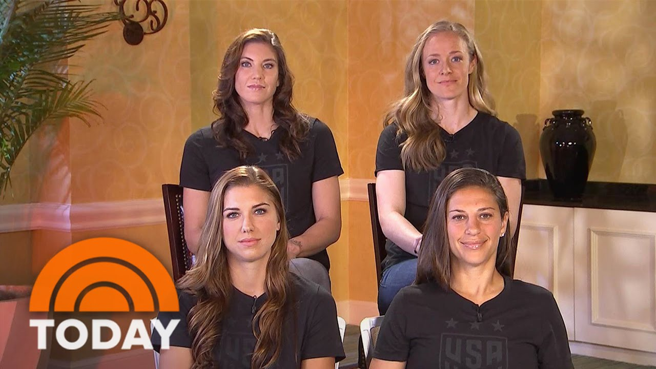 US Women's Soccer Team: It's Our 'Responsibility' 'To Push ...