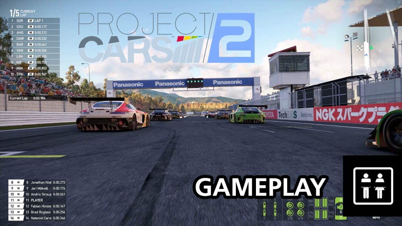 project cars 2 pc gameplay youtube. Black Bedroom Furniture Sets. Home Design Ideas