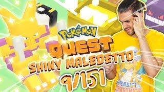 ALAKAZAM SHINY FINALMENTE SEI MIO! - Pokemon Quest ITA - Live Shiny Hunting 9/151