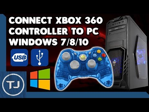 Connect Wired Xbox 360 Controller To PC! (Windows 7/8/10) [Drivers]
