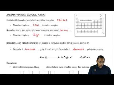 Understanding Ionization Energy