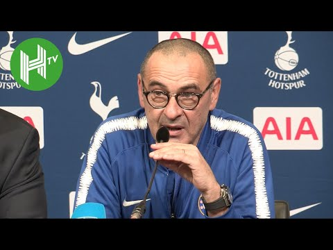 Tottenham 3-1 Chelsea | Maurizio Sarri lays into his Chelsea players after Tottenham defeat