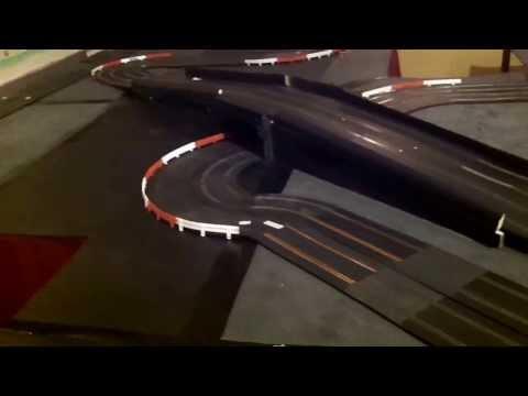 Intergalactiques du jeu – novembre 2013 à Eymoutiers : circuit scalextric
