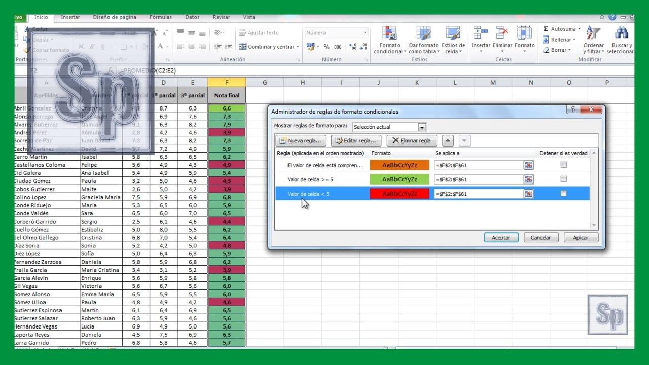 Excel c mo cambiar el color de las celdas for Como sacar el color aguamarina