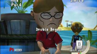 Kidz Sports: Crazy Mini Golf (Wii) - Obama USA President Trailer