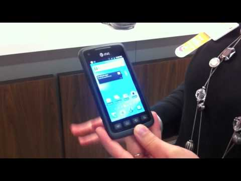 AT&T Samsung Rugby Smart Hands-On