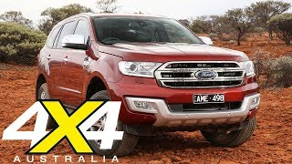 Ford Everest Titanium gets 18-inch tyre option | 4X4 Australia