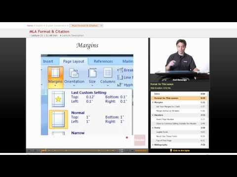 English Composition: MLA Format & Citation