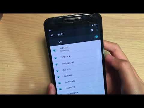 Google Nexus 6: How to Connect to WiFi