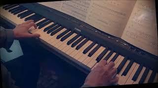 En blue jeans et blouson d'cuir (Adamo).  Piano et arrangements: André Caron