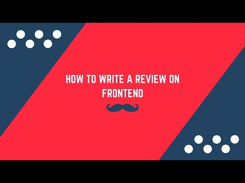 How to write a review on Advanced Magento 2 Product Reviews Extension